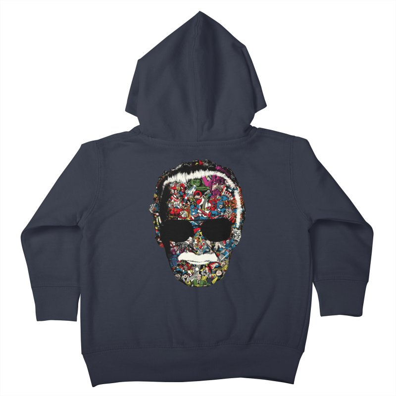 Man of many faces Kids Toddler Zip-Up Hoody by raid71's Shop
