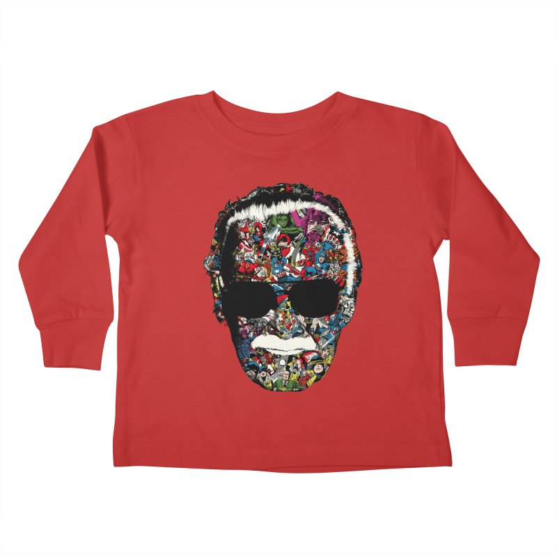 Man of many faces Kids Toddler Longsleeve T-Shirt by raid71's Shop