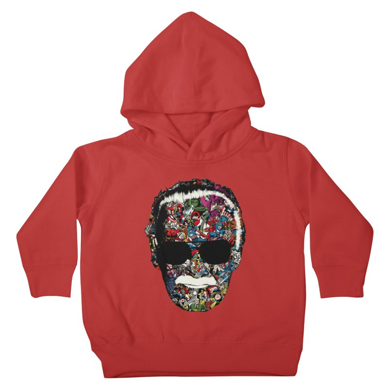 Man of many faces Kids Toddler Pullover Hoody by raid71's Shop