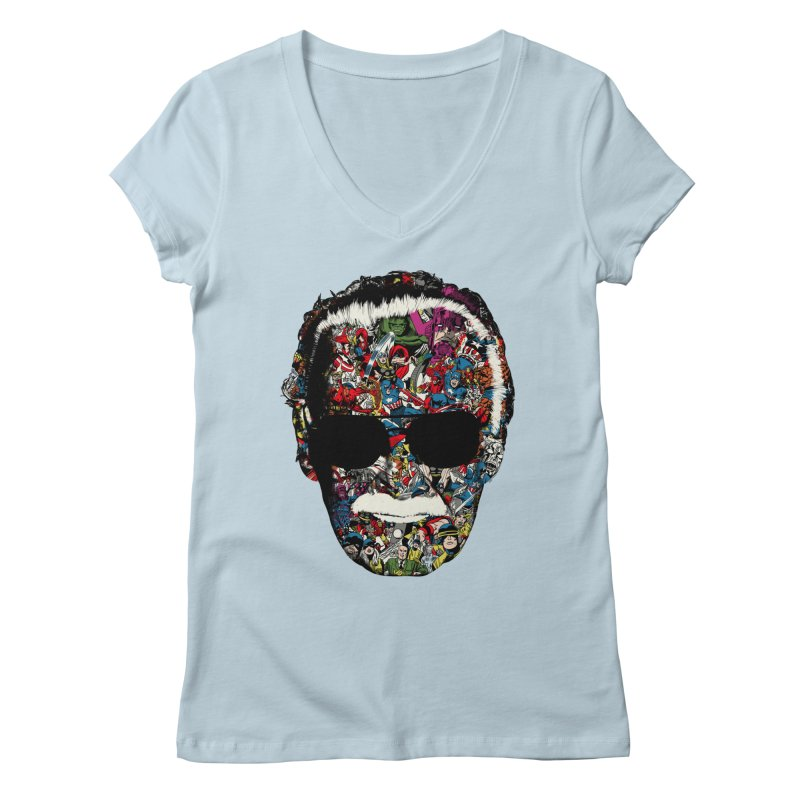 Man of many faces Women's V-Neck by raid71's Shop