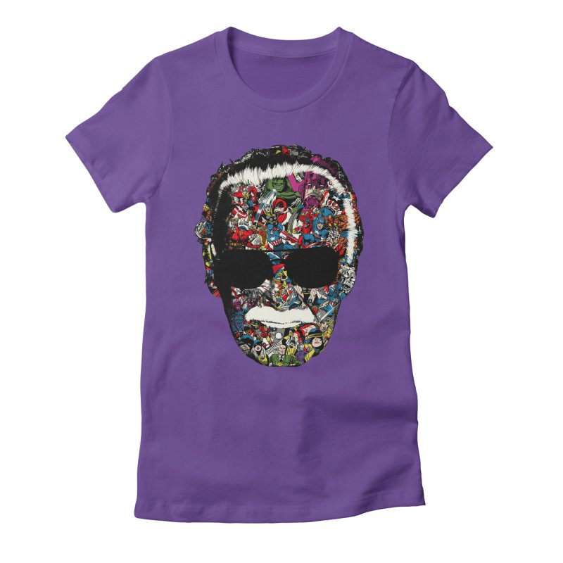 Man of many faces Women's Fitted T-Shirt by raid71's Shop