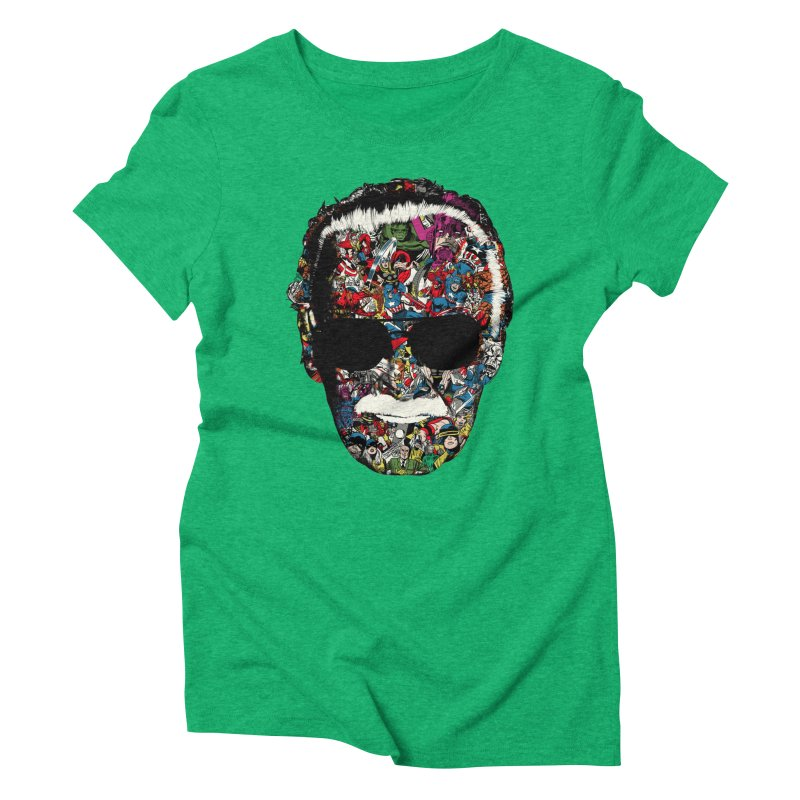 Man of many faces Women's Triblend T-shirt by raid71's Shop