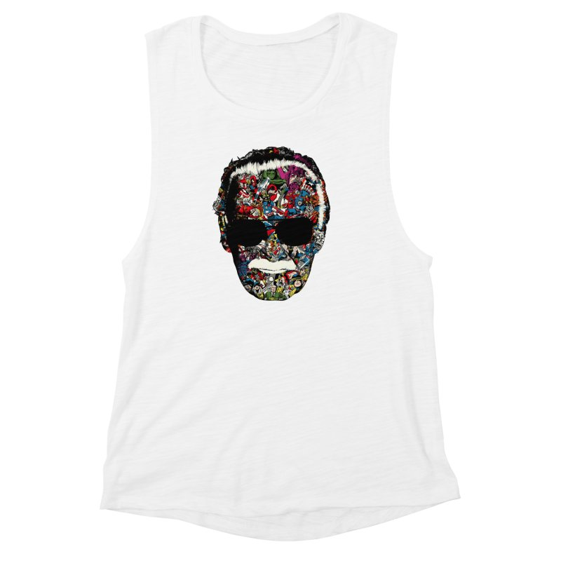 Man of many faces Women's Muscle Tank by raid71's Shop