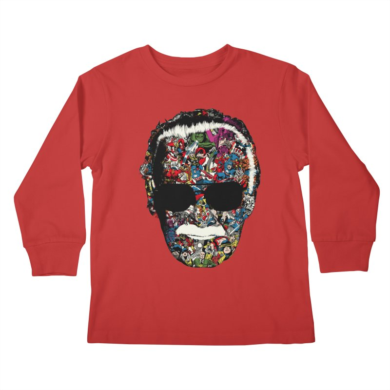 Man of many faces Kids Longsleeve T-Shirt by raid71's Shop