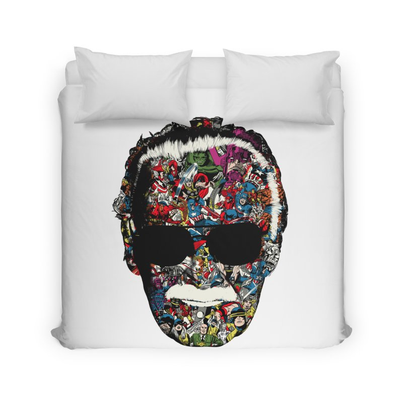 Man of many faces Home Duvet by raid71's Shop