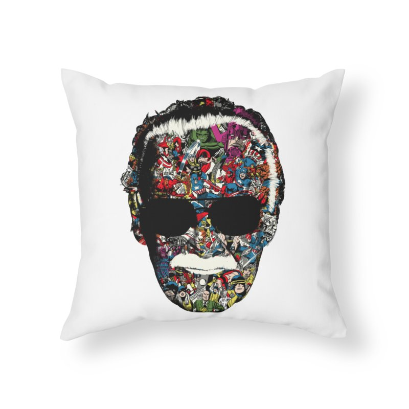 Man of many faces Home Throw Pillow by raid71's Shop