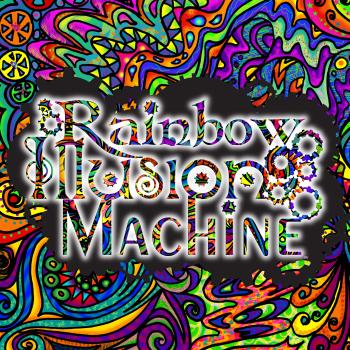 Rainbow Illusion Machine Logo
