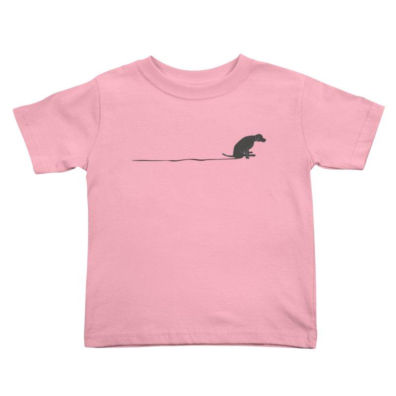Mutt Shuffle Kids Toddler T-Shirt by eggshellgreen's Artist shop