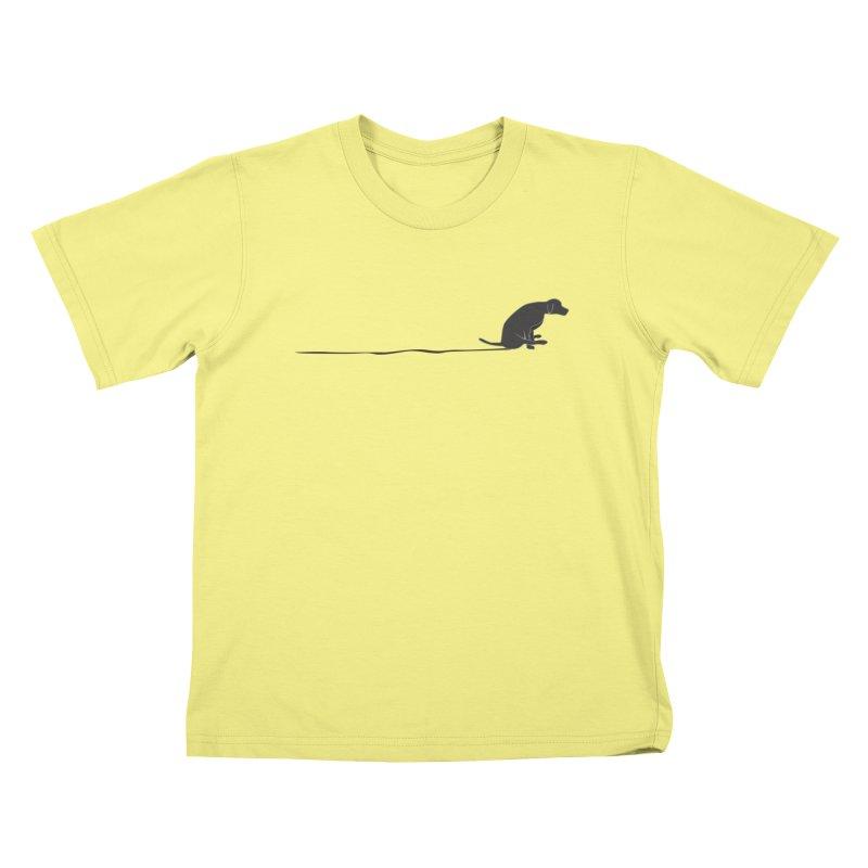 Mutt Shuffle Kids T-shirt by eggshellgreen's Artist shop