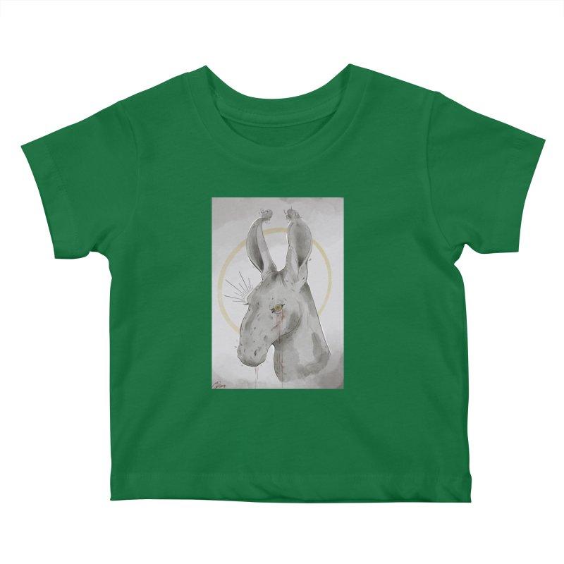 He Sees Kids Baby T-Shirt by Raining-Static Art