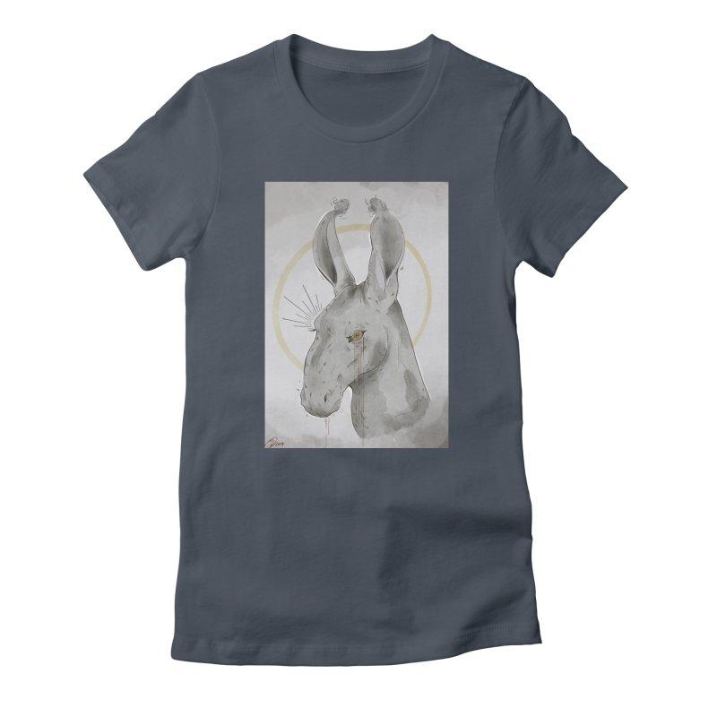 He Sees Women's T-Shirt by Raining-Static Art