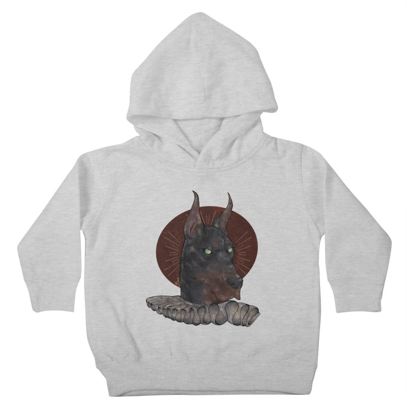 Sir Dober Kids Toddler Pullover Hoody by Raining-Static Art
