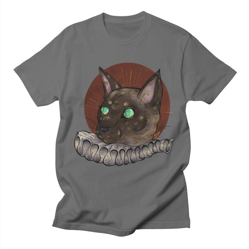 Miss Whiskers Men's T-Shirt by Raining-Static Art