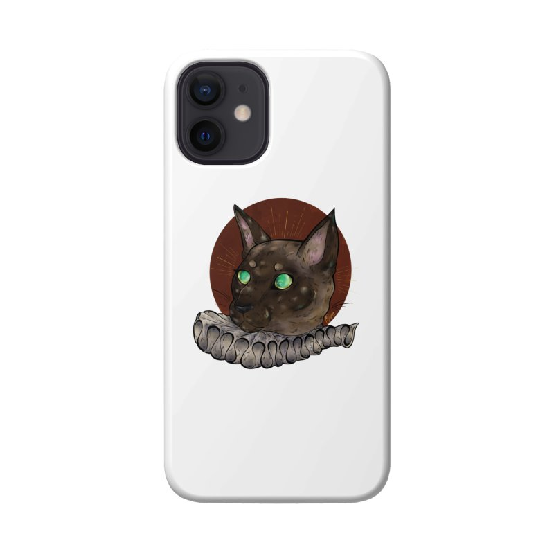 Miss Whiskers Accessories Phone Case by Raining-Static Art