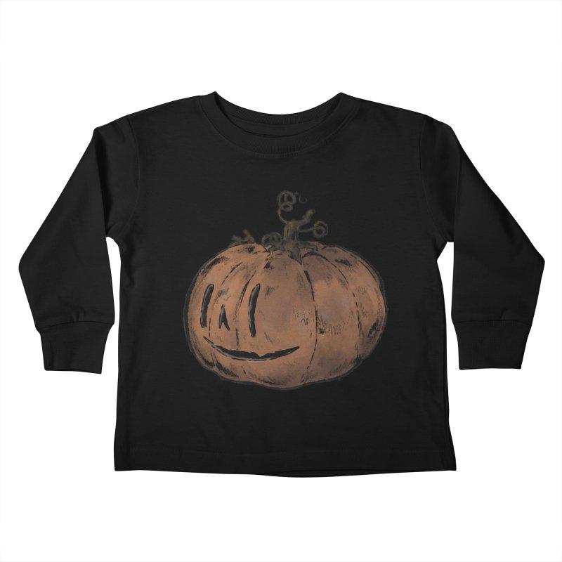 Spooky time Kids Toddler Longsleeve T-Shirt by Raining-Static Art