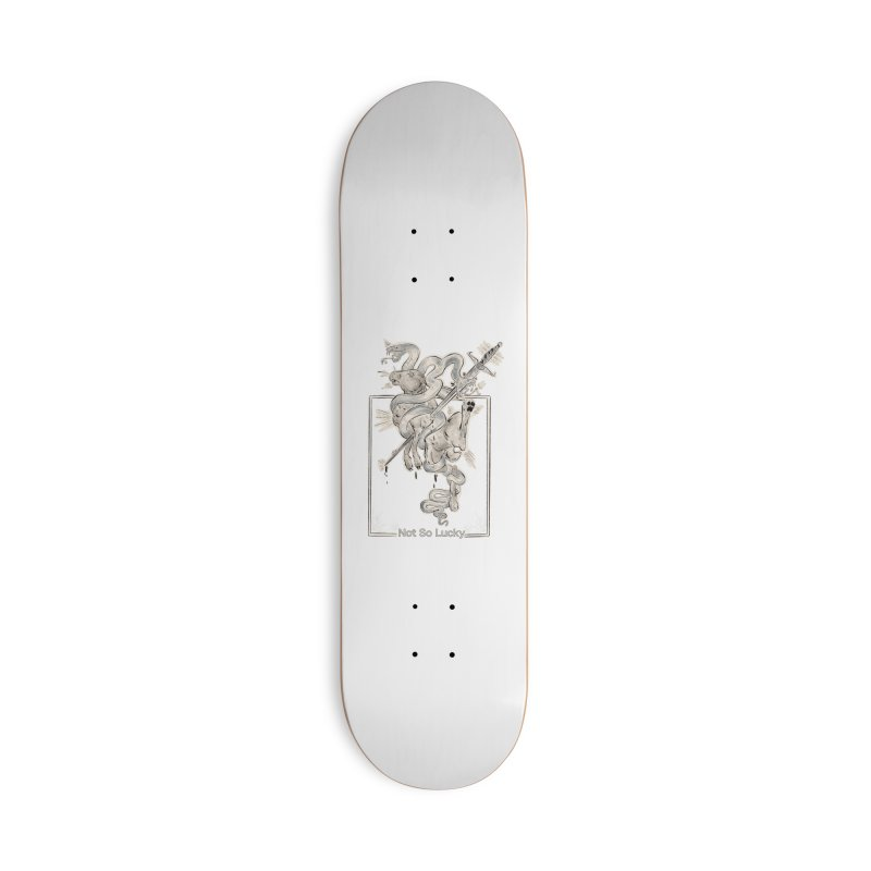 Silly Rabbit Accessories Skateboard by Raining-Static Art