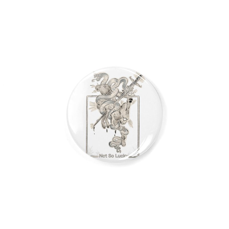 Silly Rabbit Accessories Button by Raining-Static Art