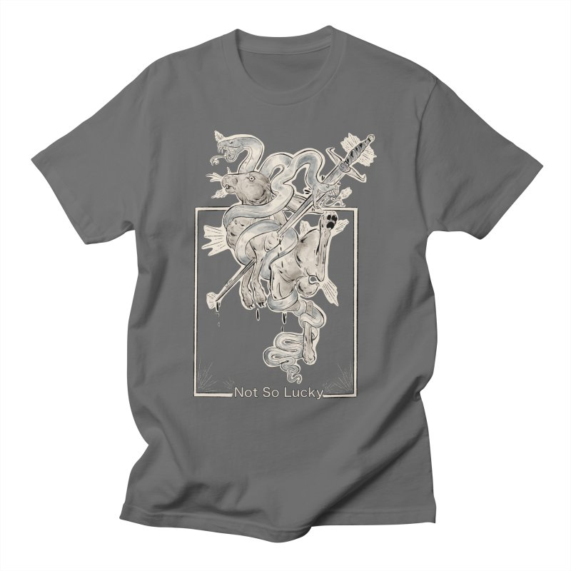 Silly Rabbit Men's T-Shirt by Raining-Static Art