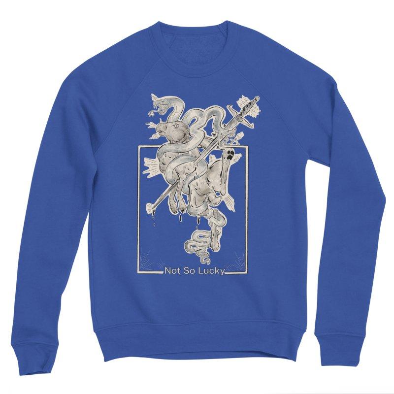Silly Rabbit Men's Sweatshirt by Raining-Static Art
