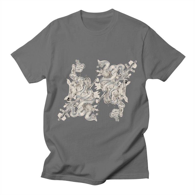 Silly Rabbit (2) Men's T-Shirt by Raining-Static Art