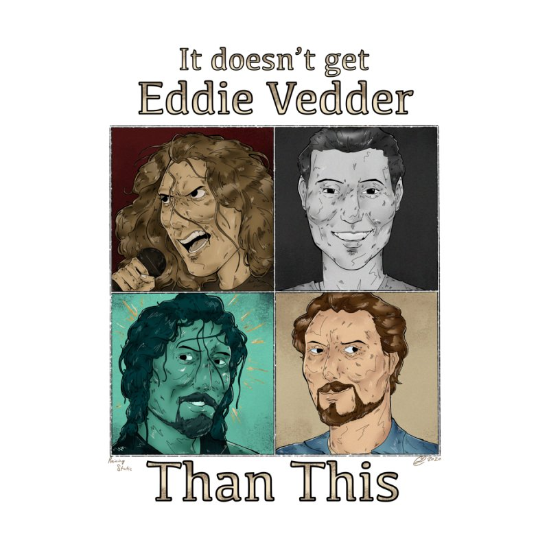 It doesn't get eddie vedder than this Accessories Sticker by Raining-Static Art