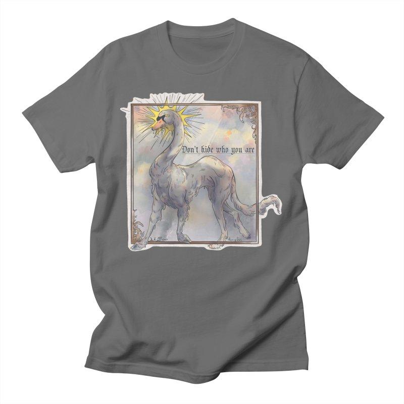 Don't hide Men's T-Shirt by Raining-Static Art