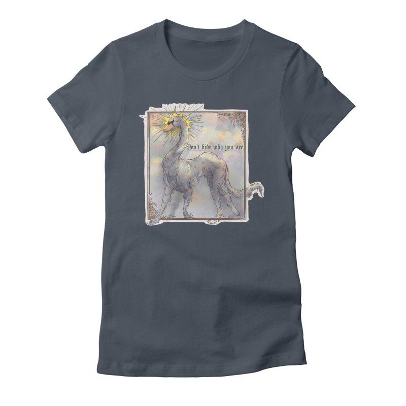 Don't hide Women's T-Shirt by Raining-Static Art