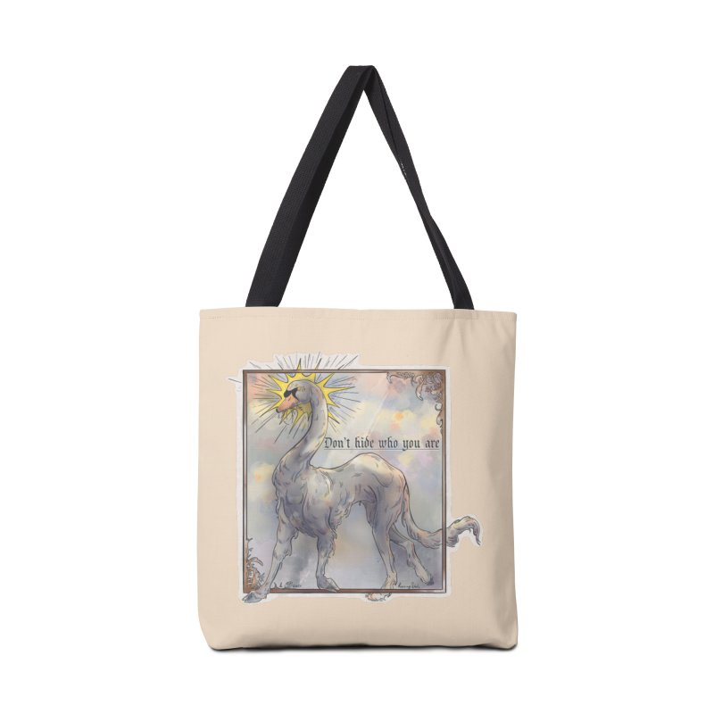 Don't hide Accessories Bag by Raining-Static Art