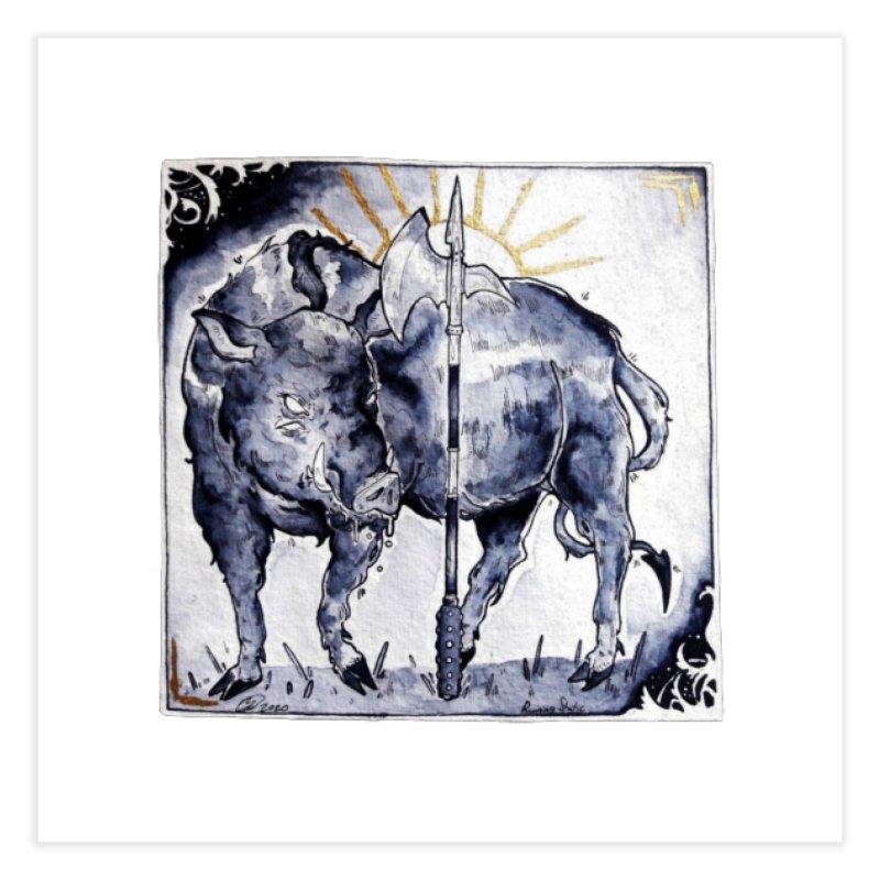 Hogs halberd Home Fine Art Print by Raining-Static Art