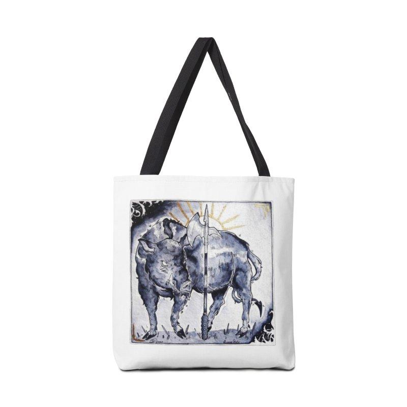 Hogs halberd Accessories Bag by Raining-Static Art