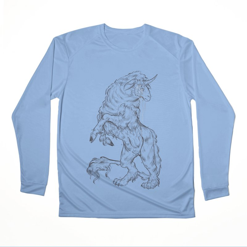 Sword keeper 1 Men's Longsleeve T-Shirt by Raining-Static Art