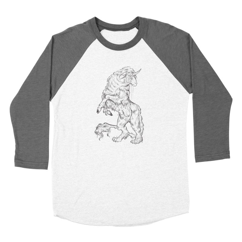 Sword keeper 1 Women's Longsleeve T-Shirt by Raining-Static Art