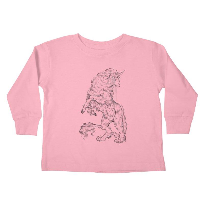 Sword keeper 1 Kids Toddler Longsleeve T-Shirt by Raining-Static Art