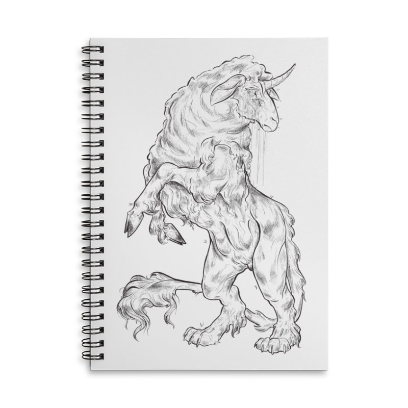 Sword keeper 1 Accessories Notebook by Raining-Static Art