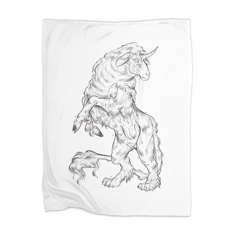 Sword keeper 1 Home Blanket by Raining-Static Art