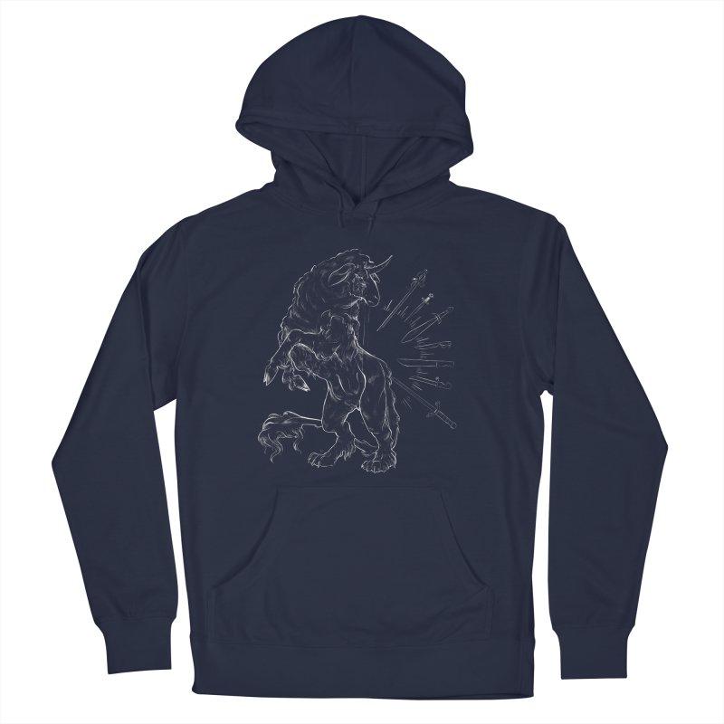 Sword keeper 2 (white) Men's Pullover Hoody by Raining-Static Art