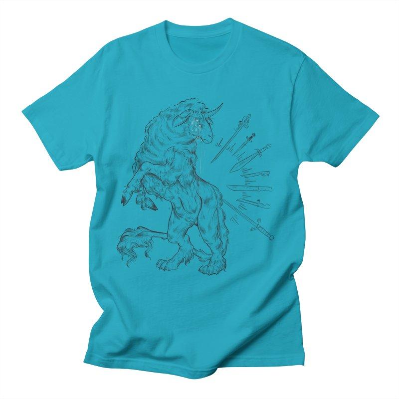 Sword keeper 3 Men's T-Shirt by Raining-Static Art