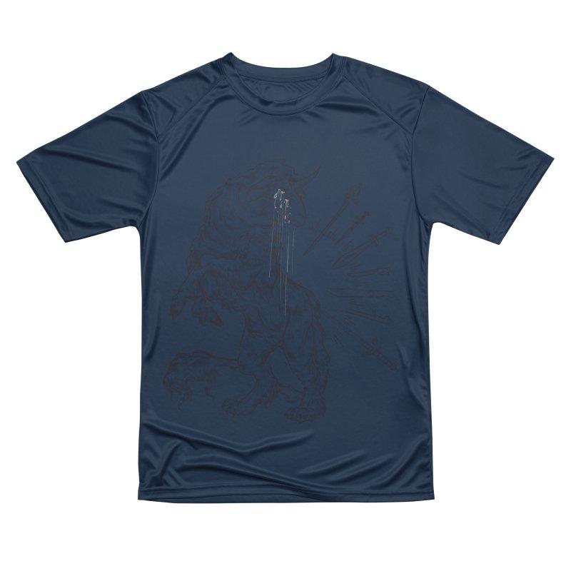 Sword keeper 3 Women's T-Shirt by Raining-Static Art