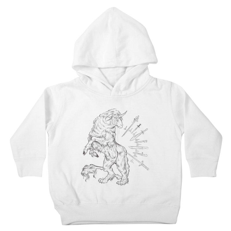 Sword keeper 3 Kids Toddler Pullover Hoody by Raining-Static Art