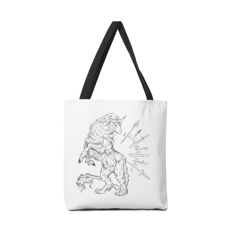 Sword keeper 3 Accessories Bag by Raining-Static Art