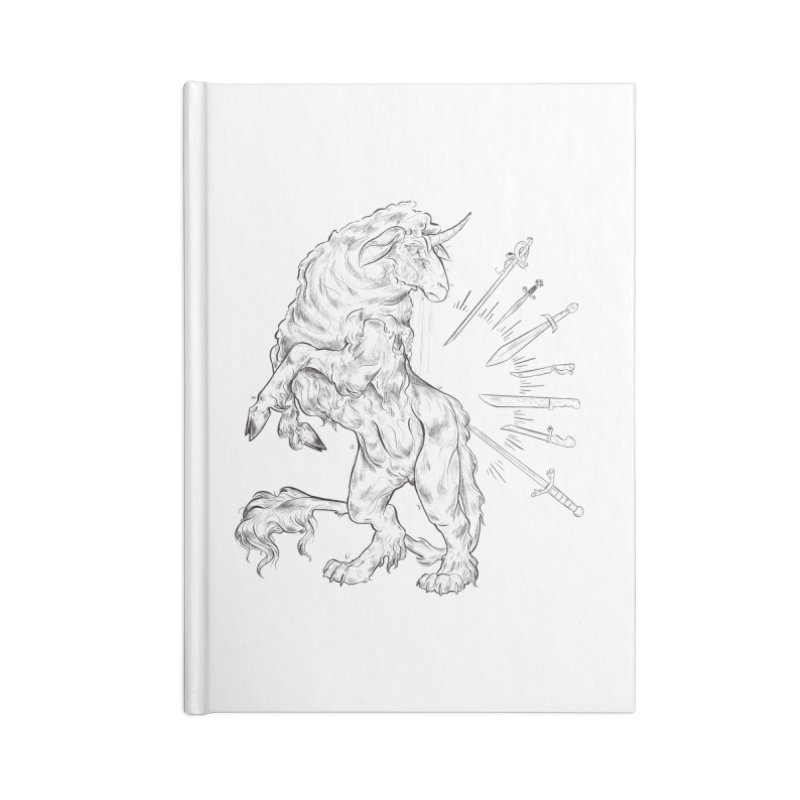 Sword keeper 3 Accessories Notebook by Raining-Static Art