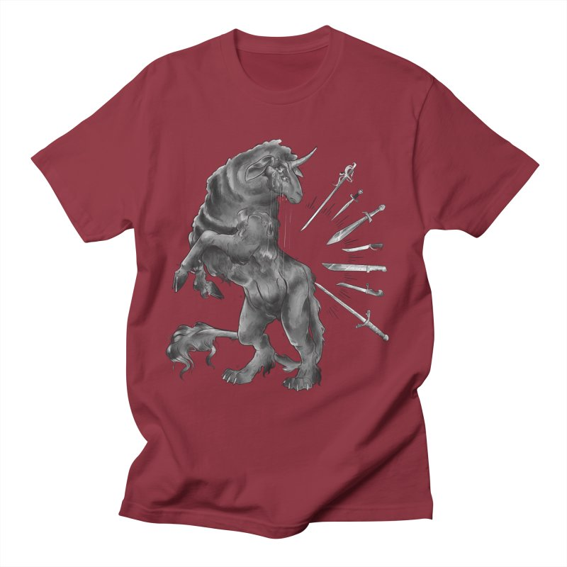 Sword keeper 4 Men's T-Shirt by Raining-Static Art
