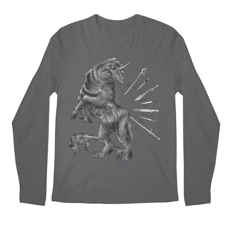 Sword keeper 4 Men's Longsleeve T-Shirt by Raining-Static Art