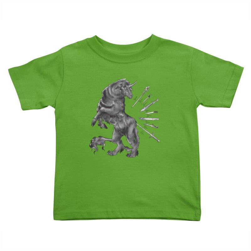 Sword keeper 4 Kids Toddler T-Shirt by Raining-Static Art