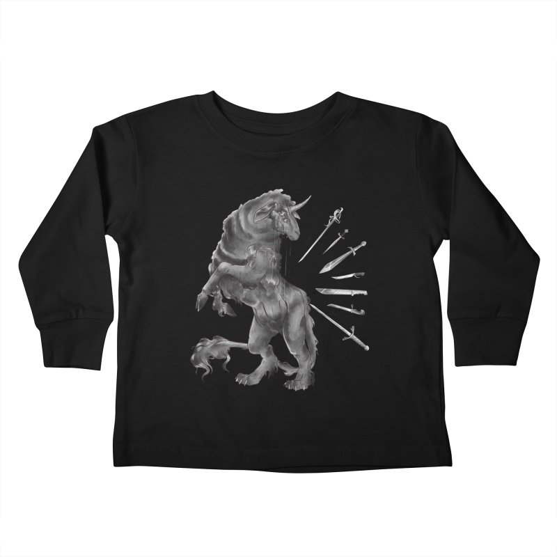 Sword keeper 4 Kids Toddler Longsleeve T-Shirt by Raining-Static Art