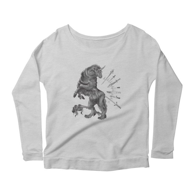 Sword keeper 4 Women's Longsleeve T-Shirt by Raining-Static Art