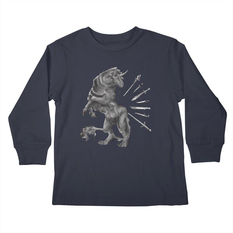 Sword keeper 4 Kids Longsleeve T-Shirt by Raining-Static Art