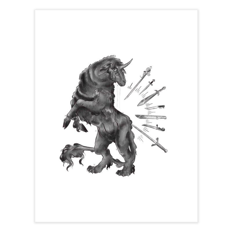 Sword keeper 4 Home Fine Art Print by Raining-Static Art