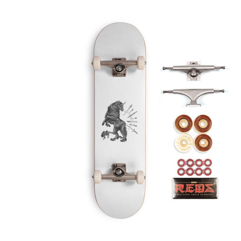 Sword keeper 4 Accessories Skateboard by Raining-Static Art