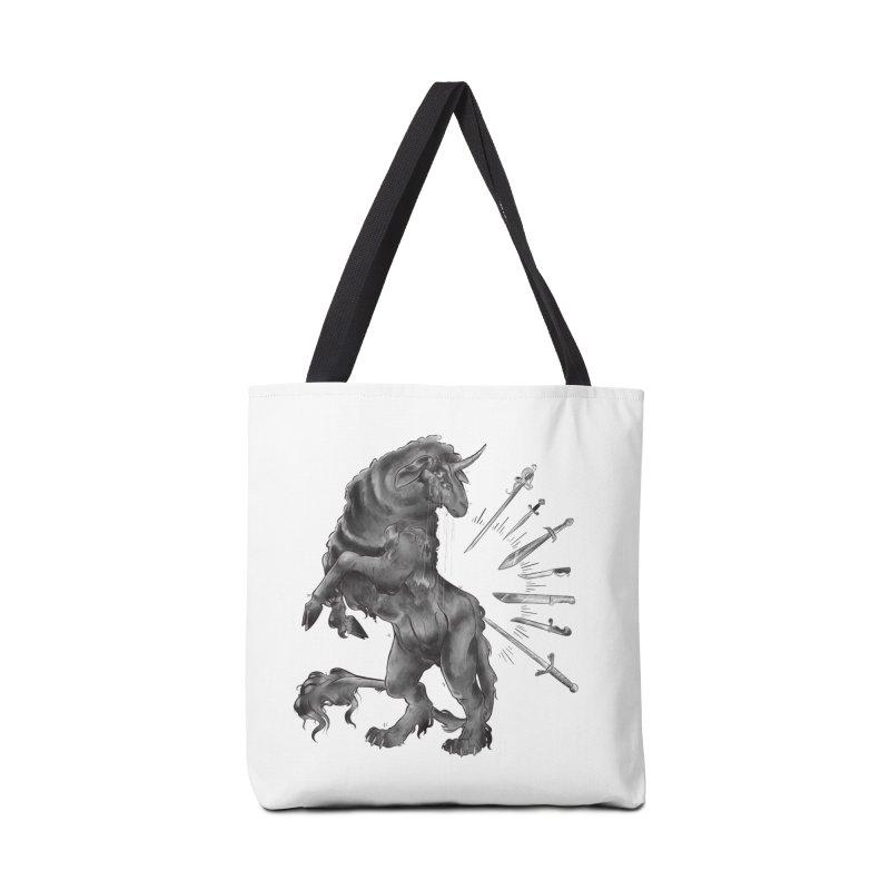Sword keeper 4 Accessories Bag by Raining-Static Art